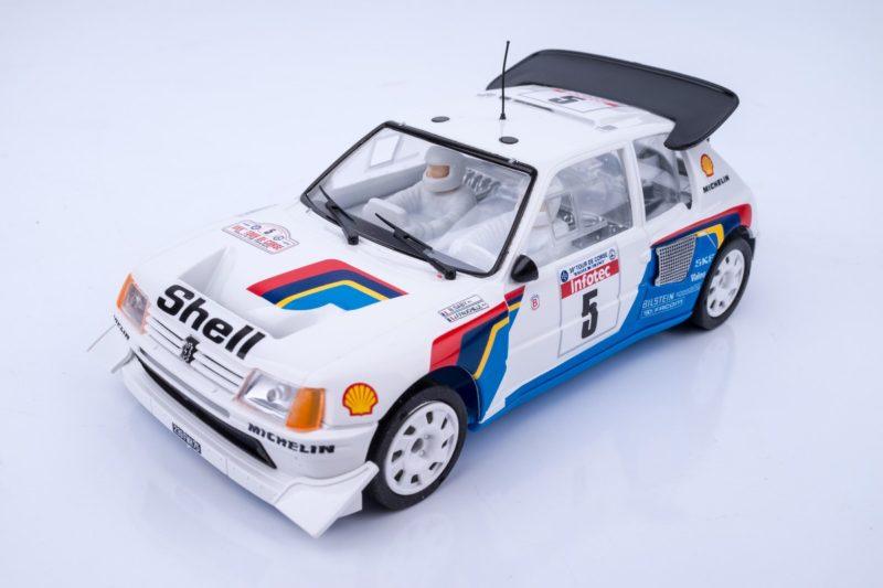 SRC Réédite la Peugeot 205 T16 Bruno Saby Tour de Corse 1986