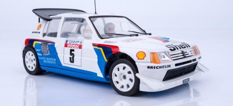 SRC: Réédite la Peugeot 205 T16 Bruno Saby Tour de Corse 1986