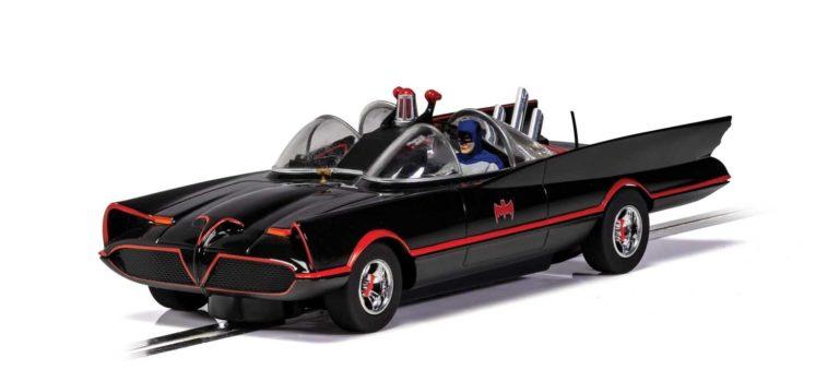 Scalextric: la Batmobile 1966 pour le slot en vidéo