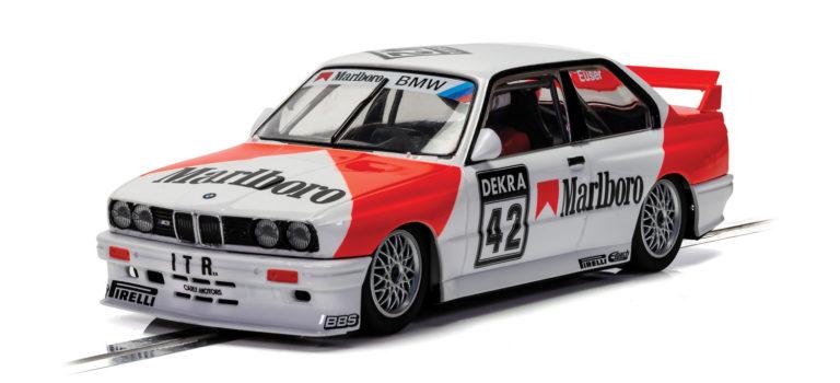 Scalextric: la BMW E30 M3 1991 DTM #42 Cor Euser – C4168
