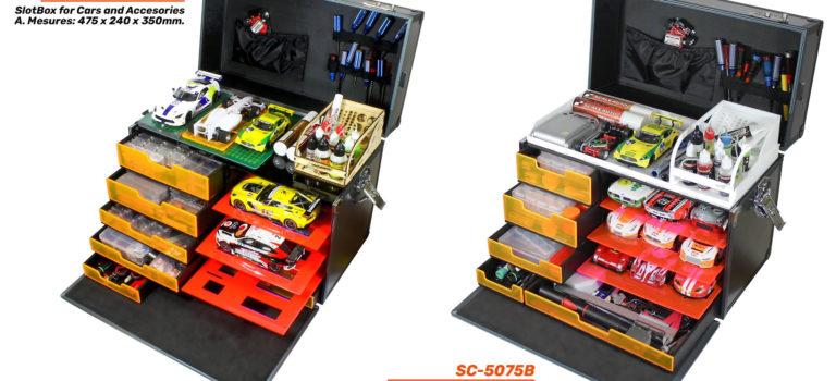Scaleauto: Des SlotBox pour les sloteurs