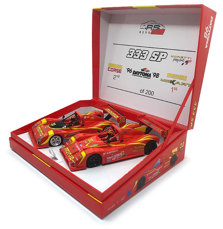 coffret collector Twin Pack Daytona 1996-1998 (Réf. 0088)