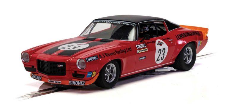 Scalextric: la Chevrolet Camaro – 1973 Spa 24hrs – James Hunt & Richard Lloyd – C4216