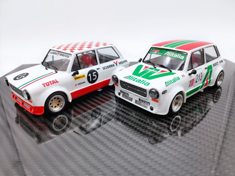 TTS: Deux livrées très italiennes pour l'A112 Abarth 1/24