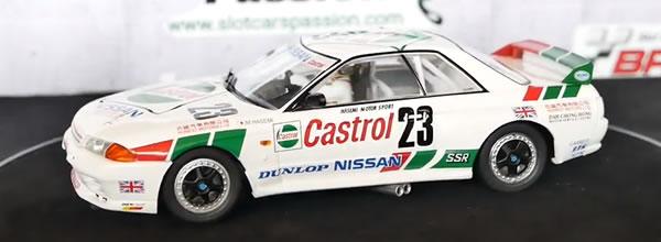 """Le Slot de Flo: """"format 360"""" la Nissan Skyline GT-R 1st Macau 1990 de Slot.it"""