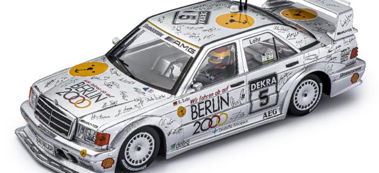 Slot.it: la Mercedes 190E DTM #5 1st Hockenheim DTM 1992 est arrivée