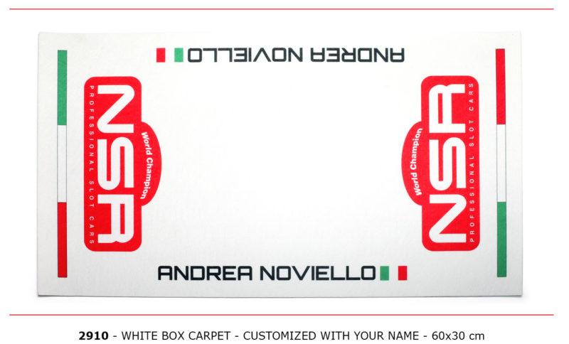 NSR-2910 - Box Carpet - white