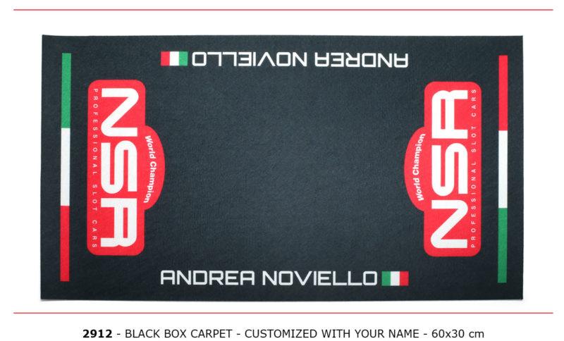 NSR-2912 - Box Carpet - Black