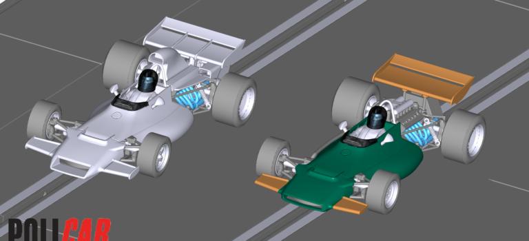 Policar: Choisissez la prochaine slot car F1 Classic