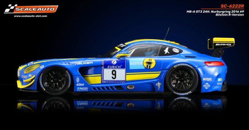 SC-6222 R MB-A GT3 24 H. Nurburgring 2016 #9 Bilstein