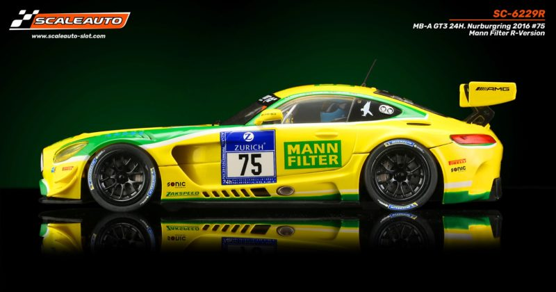 SC-6229 R MB-A GT3 24 H. Nurburgring 2016 #75 Filtre Mann