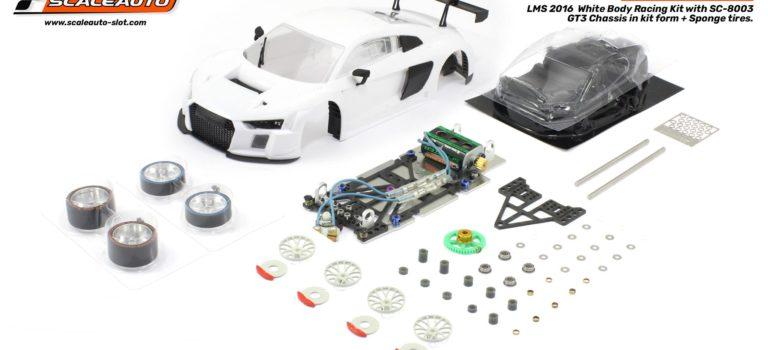 Scaleauto: le kit racing de l'Audi R8 LMS GT3 2016 est disponible