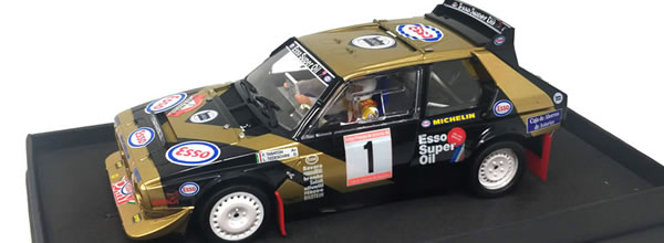 SRC: les photos de la Lancia Delta S4 – Rallye Prince des Asturies '86