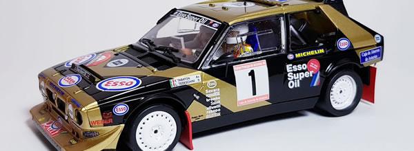SRC la Lancia Delta S4 – Rallye Prince des Asturies '86 approche