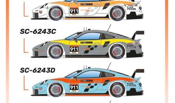 Scaleauto: Des Porsche 911 (991.2) GT3 Cup Versions RSR 2021
