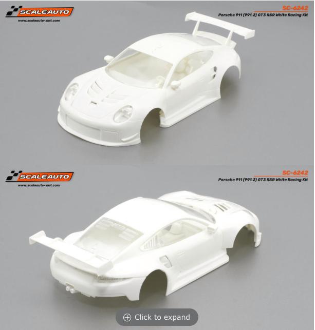 Scaleauto Des Porsche 911 (991.2) GT3 Cup Versions RSR 2021
