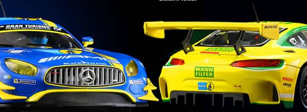 Scaleauto: les deux dernières MB-A GT3 - 24H. Nurburgring 2016