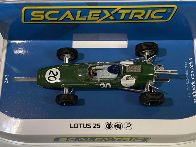 Scalextric la Lotus 25 - GP de Grande-Bretagne 1962 - Jim Clark - C4195