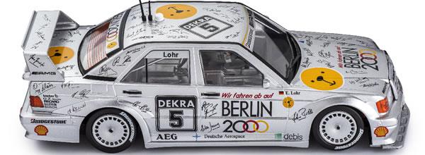 Slot.it la Mercedes 190E DTM Hockenheim 1992 arrive en Mars