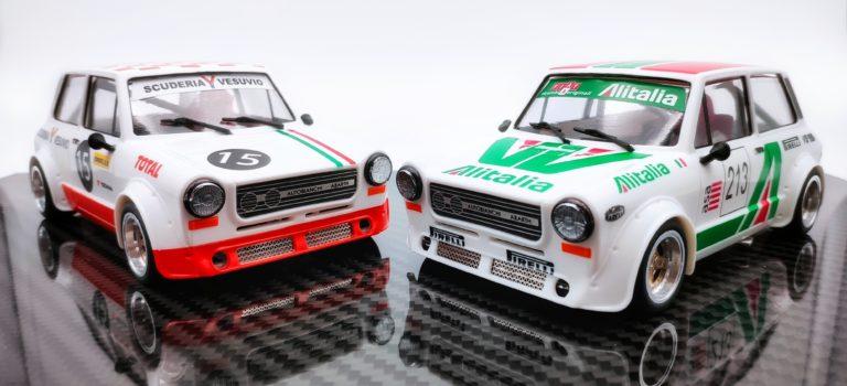 TTS: les deux Autobianchi A112 Abarth arrivent dans les boutiques