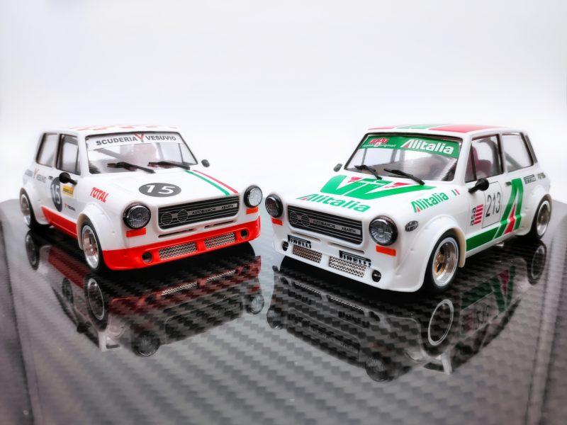 TTS Deux livrées très italiennes pour l'A112 Abarth 1/24