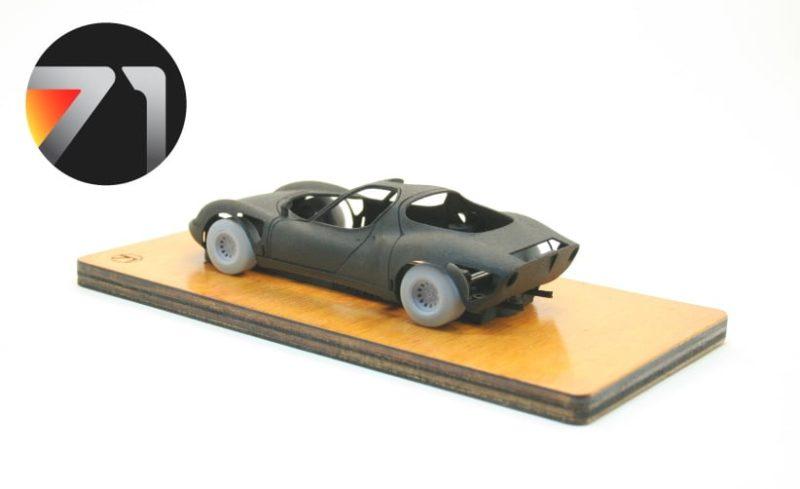 The Area71 Le kit en 3DP de l'Alfa Romeo 33 Stradale