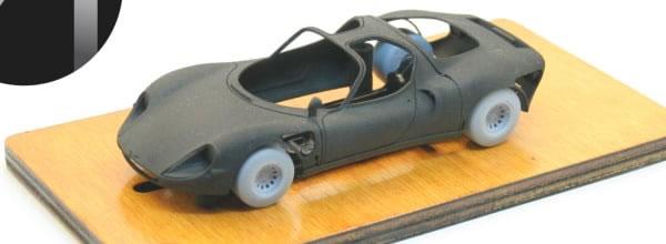 The Area71: Le kit en 3DP de l'Alfa Romeo 33 Stradale
