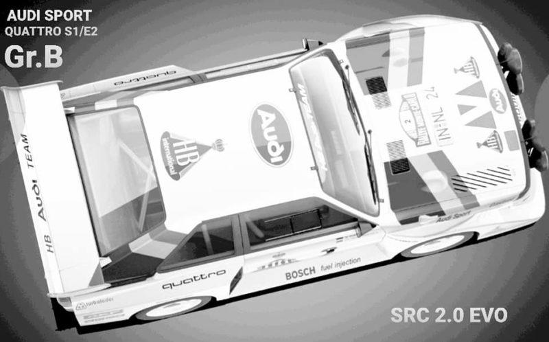 Audi Quattro S1/E2 Gr B
