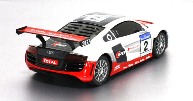 Audi R8 GT3 # 2 Gris & Rouge - N-50669