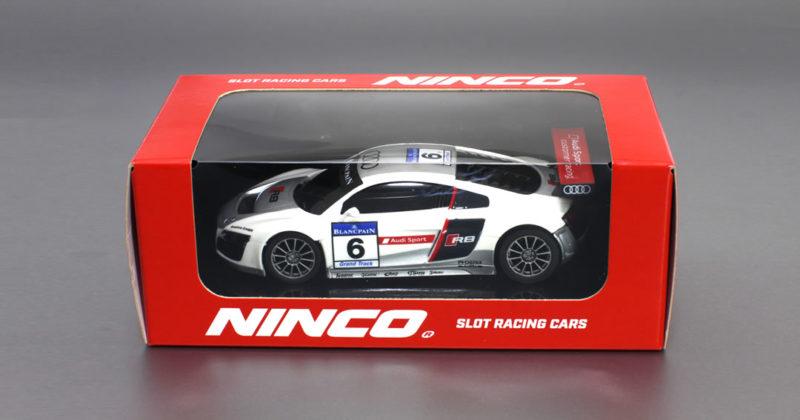 Audi R8 GT3 # 6 Blanc & Gris - N-50671