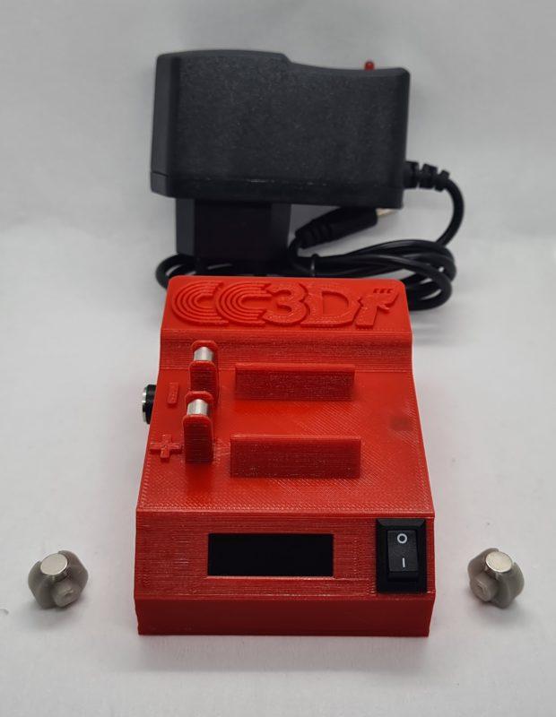 CCSlot 3D le Mini Test, le calculateur de RPM