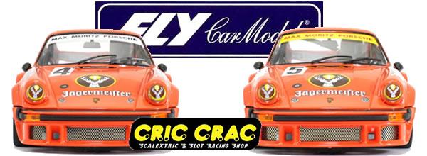 Fly Car Model: les 2 Porsche 934 - 300km Norisring # 5 et #4