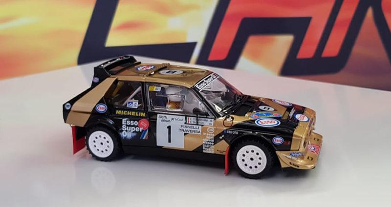 Lancia Delta S4 Grifone Esso Team - Costa Brava Rally 1986 #1 (ref.SRC04003)