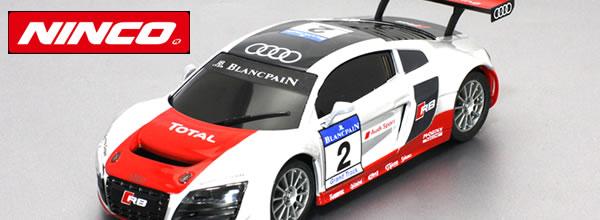 Ninco: Quatre Audi R8 GT3 pour le slot