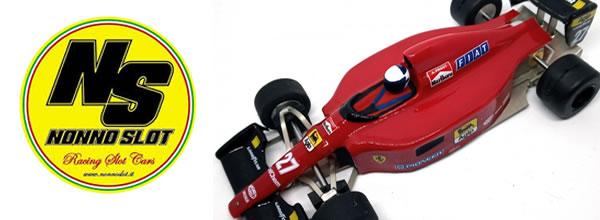 Nonno Slot: Trois nouvelles F1 Lexan for racers