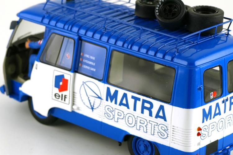 Le Mans miniatures : le Peugeot J7 Team Matra Sport à l'échelle 1/32