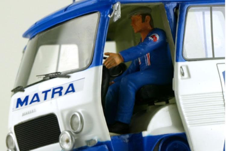 Peugeot J7 Team Matra de Le Mans miniatures