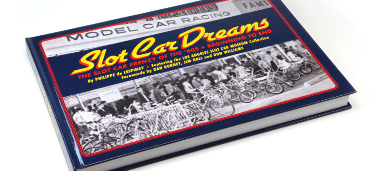 Philippe De Lespinay – Le livre Slot Car Dreams – Limited Edition