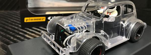 Pioneer Slot: la Ford Coupé 34 et la Chevy Sedan en version X-Ray