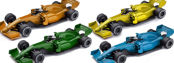 Policar Quatre nouvelles couleurs pour la F1 Generic Modern