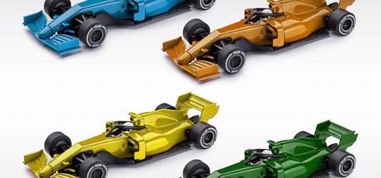 Policar: Quatre nouvelles couleurs pour la F1 «Generic Modern»