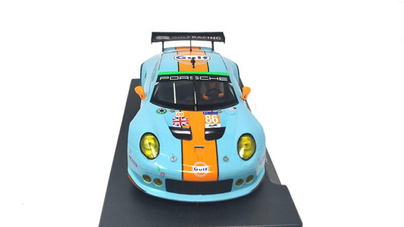 Porsche 911 (991) RSR GT3 Team Gulf 24H. Le Mans 2016