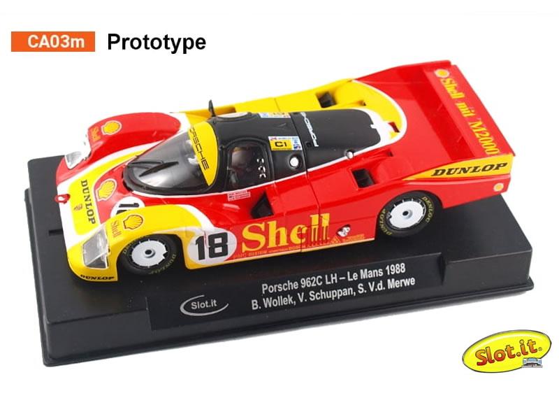 Porsche 962C LH - #18 Le Mans 1988 - B. Wollek, V. Schuppan, S. V.d. Merwe - CA03m