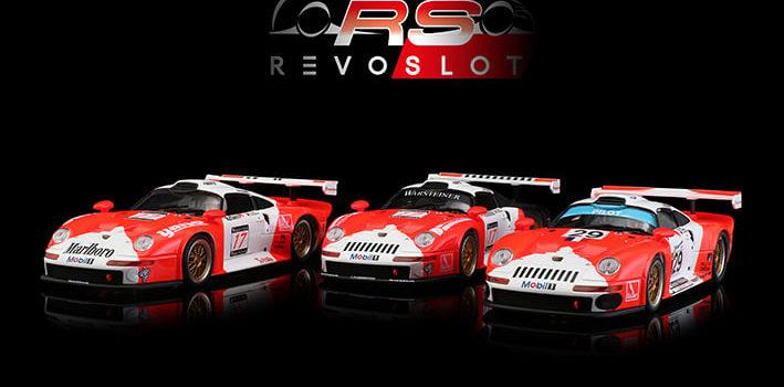 Revoslot: les photos des trois Porsche 911 GT1 JB Racing Marlboro