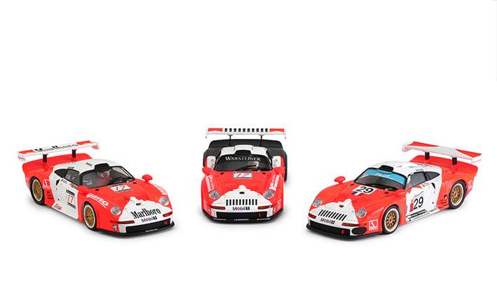 RS0092 - Porsche 911 GT1 - Marlboro triple pack