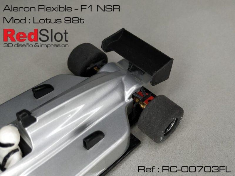 Redslot - Aileron - F1 NSR - Lotus 98t