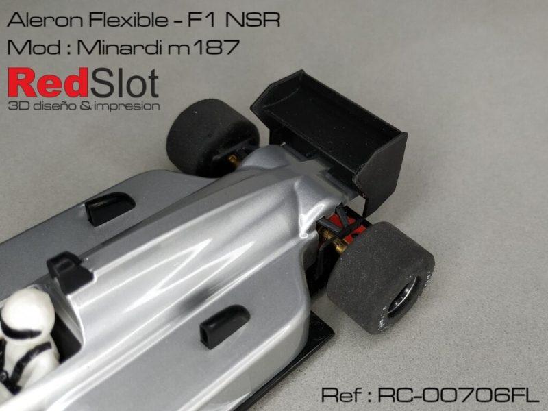 Redslot - Aileron - F1 NSR - Minardi m187