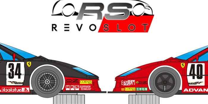 Revoslot: les deux Ferrari F40 du Team Taisan 1994