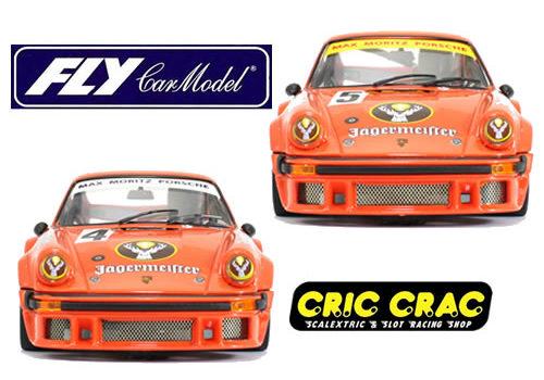 Fly Car Model: les 2 Porsche 934 – DRM 76 # 5 et #4