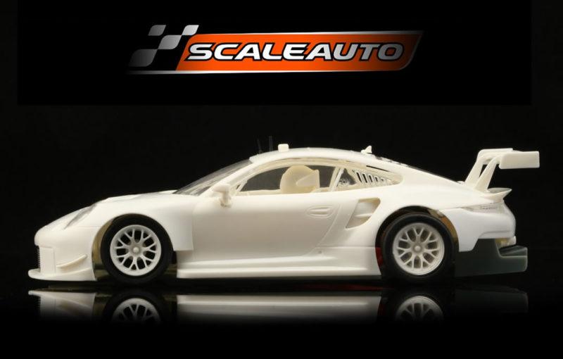 Scaleauto Le Kit de course blanc Porsche 911 (991.2) GT3 RSR